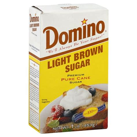 Light Brown Sugar Substitute by Domino Brown Sugar Light Be Shopper