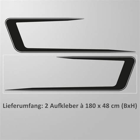 Racing Design Aufkleber by Autoaufkleber Seitenstreifen Racing Design Seitenaufkleber