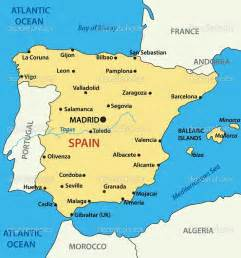 Map Of Southern Spain by Map Of Southern Spain Coast