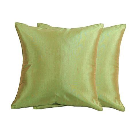 Silk Throw Pillow Covers by 2x Thai Silk Throw Decorative Pillow Covers Cushion