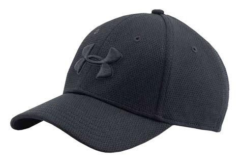 under armoir hats under armour men s ua blitzing ii stretch fit baseball cap hat ebay