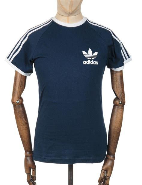 Tshirt Adidas Reutro Navy retro trefoil logo t shirt collegiate navy clothing