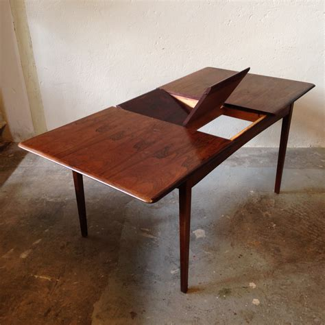 johannes andersen dining table extendable rosewood dining table by johannes andersen