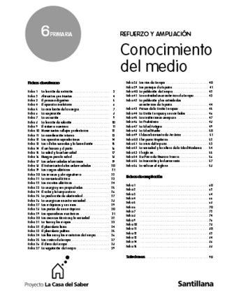conocimiento medio andalucia 6 de fichas de refuerzo y liaci 243 n de conoc