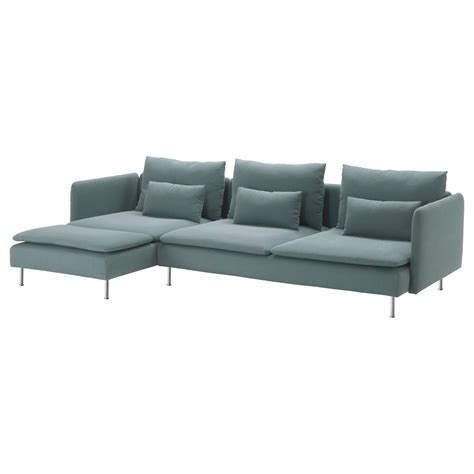 ikea couches usa s 214 derhamn three seat sofa and chaise longue finnsta