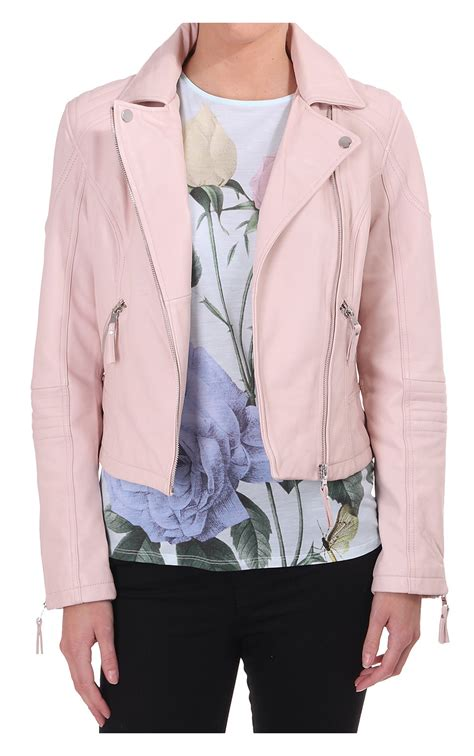 pink leather motorcycle jacket biker jacket pink jacket to