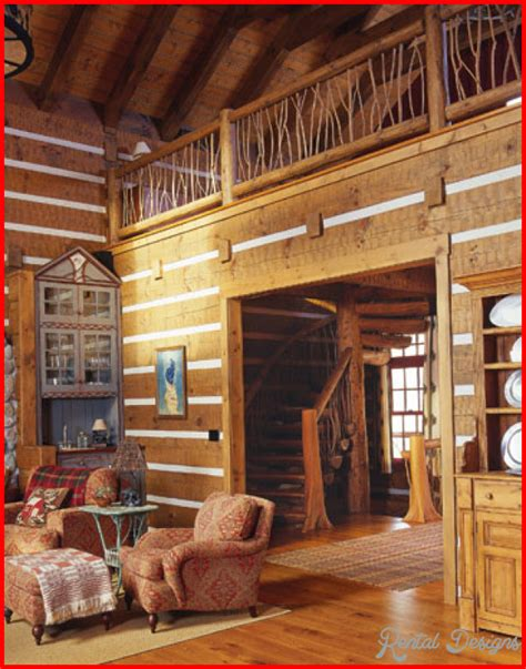 Log Homes Interior Designs cabin interior design ideas rentaldesigns