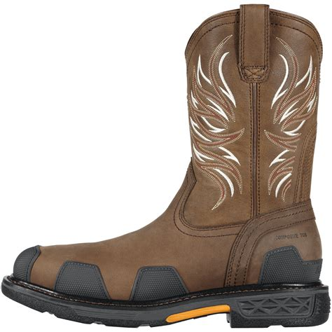 ariat overdrive work boots ariat overdrive composite toe work boot 10011933