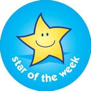 printable star of the week badge star of the week pinkie st peter s primary school