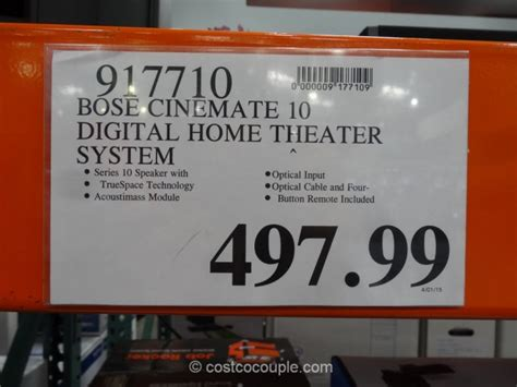 bose cinemate  digital home theater system