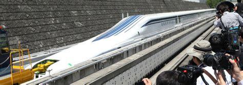 train haute vitesse en test au japon