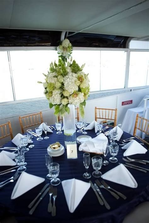 Wedding Centerpiece, Nautical Theme ~ Hornblower Cruises