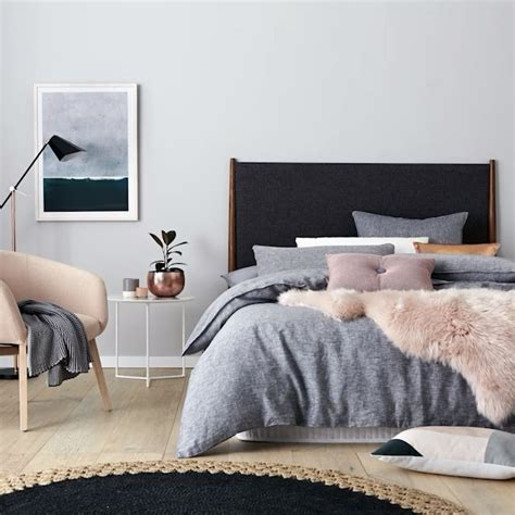decorations blush gray copper room decor inspiration mauve home adairs washed linen quilt cover home decor pinterest