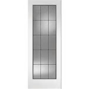 Lowes Interior Door Reliabilt Lite Solid Wood Frosted Interior Slab Door Lowe S Canada
