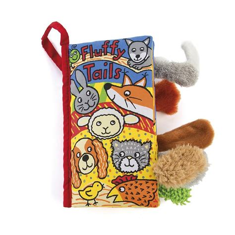 Soft Book With The Animals On Tree jellycat soft book fluffy tails the animal kingdom