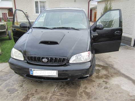 kia carnival 2000 2000 kia carnival up pictures information and specs