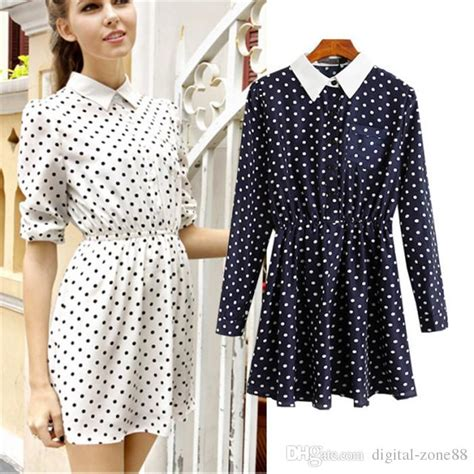 Casual Dress Sweet Mocca Polka casual dress for dress yp