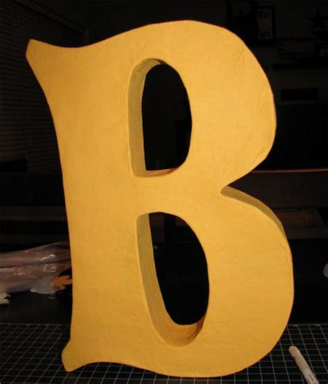 How To Make Paper Mache Letters - 1000 images about papier mache on paper mache