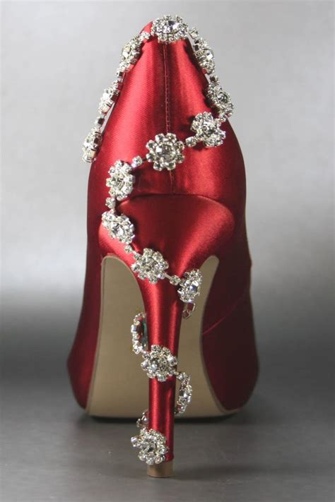 Hochzeitsschuhe Rot by Wedding Shoes Platform Peeptoes Silver By