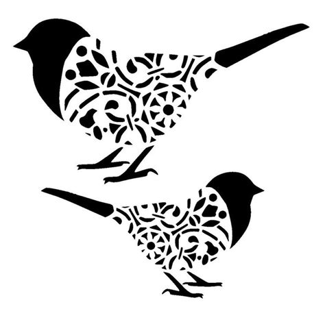 Bird Stencil Printable Coloring Home Bird Design Templates