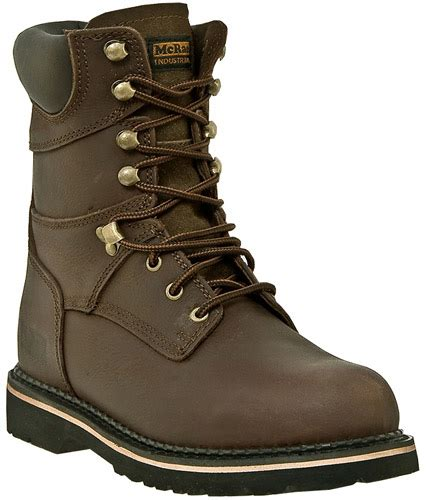 mcrae steel toe leather work boots mr88344 8 quot steel
