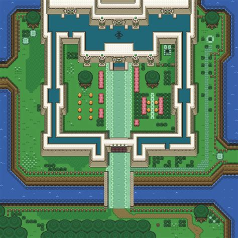 legend of zelda map layout background hq a link to the past light world overworld
