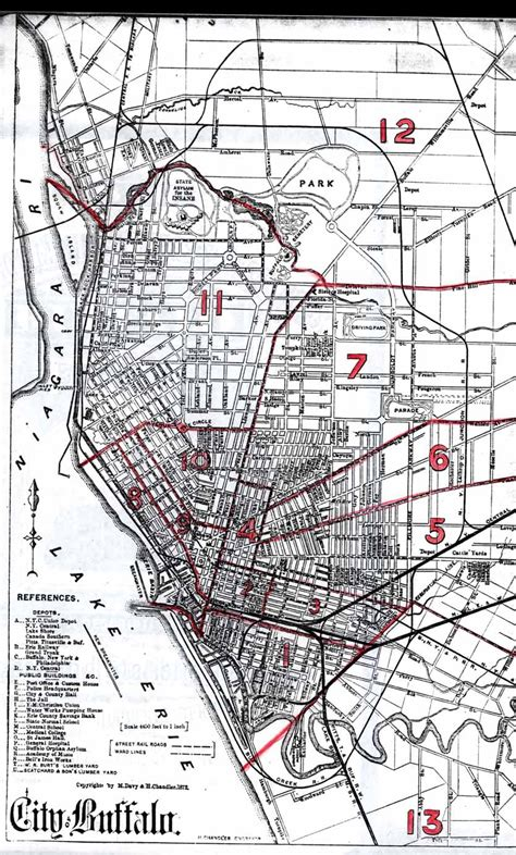 section 8 buffalo new york the schwertfeger schwert families historic maps of
