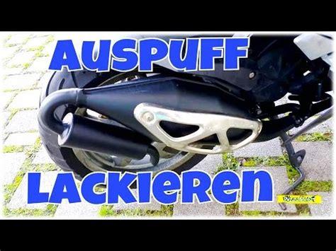 Roller Zum Lackieren by Roller Auspuff Lackieren Bizzybest