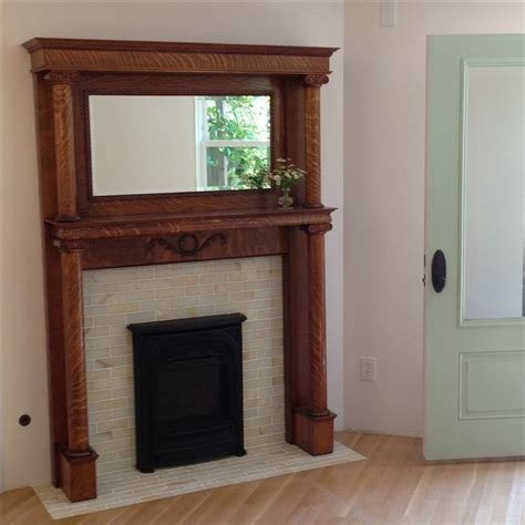 fireplace surround tile modern ideas antique mantel 21 best images about antique mantel on pinterest mantels