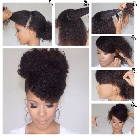no heat hairstyles short black hair 3 no heat curly styles for spring the curly bun