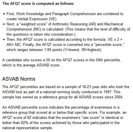 asvab test sections cat asvab exam info for math verbal spatial science
