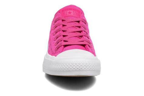 Converse Ct Ii Lo As Ox Shield Lycra Soar Pink White Counter Climate converse chuck all ii ox shield lycra pink trainers chez sarenza 289418