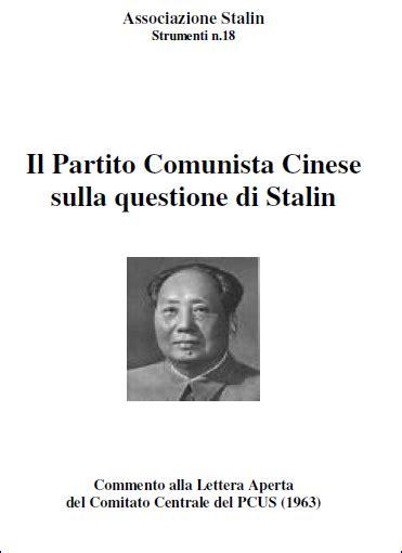 vai testo il partito comunista cinese sulla questione di stalin