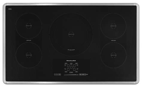 36 Induction Cooktop Kitchenaid 36 Electric Induction Cooktop Kicu569xss