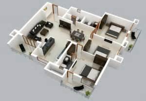 que es home design 3d plano 3d de casa de un solo nivel construye hogar