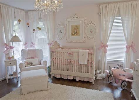 Shabby Chic Nursery Curtains Shabby Chic Nurseries Chic Nursery And Wall Decor On Pinterest