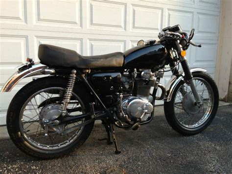 1973 honda cb350 cafe racer project for sale 1973 honda cb350 cafe racer