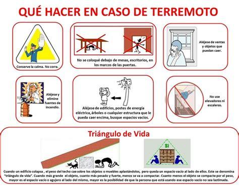 qu hacer cuando en qu 233 hacer en caso de terremoto emergencias