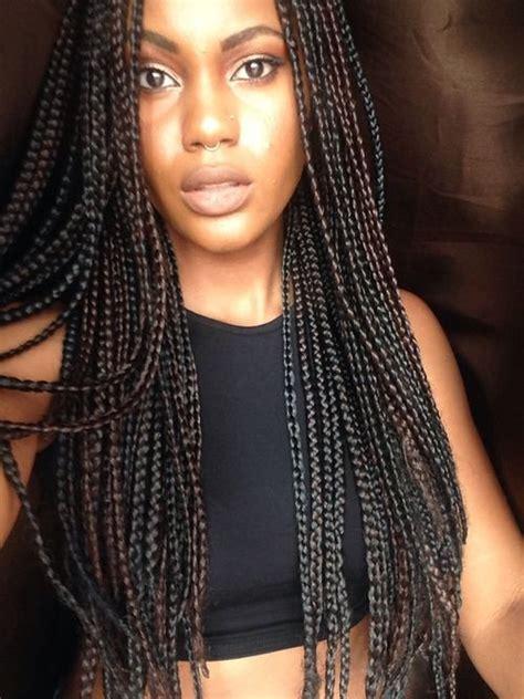 long box braids 65 box braids hairstyles for black women