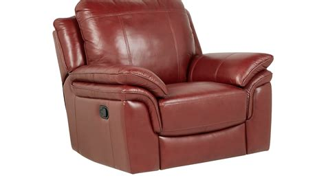 red leather recliner grand palazzo red leather rocker recliner reclining