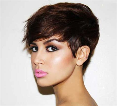 short pixie haircuts for thick hair short haircuts for thick hair spectacular classy