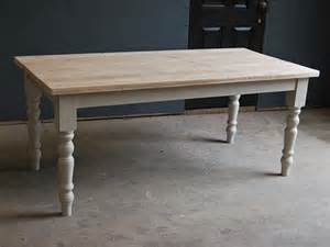Timber Kitchen Table Vintage Kitchen Dining Farmhouse Table Made From Reclaimed