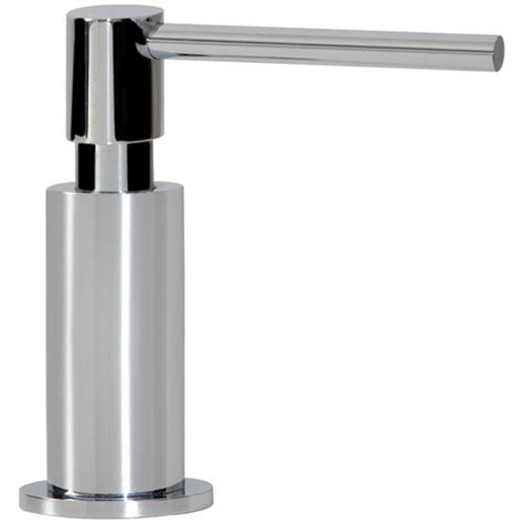 Sink Accessories Ovale Soap Dispensers In Chrome Finish Franke Kitchen Sink Accessories