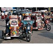 Filipino Icon Tricycle And Pedicab  FFE Magazine