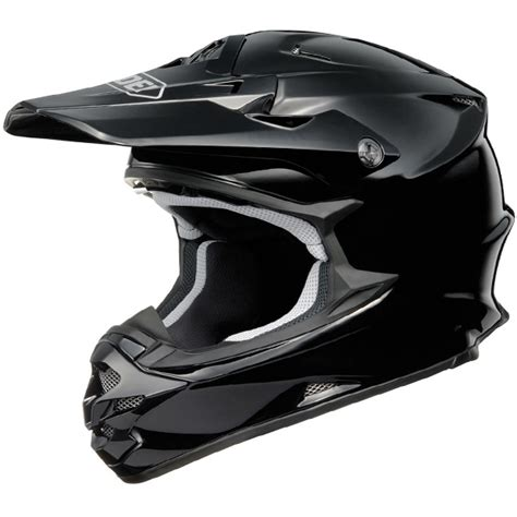 motocross helmets uk shoei vfxw helmet black gloss dirtbikexpress