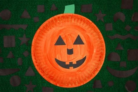 printable jack o lantern craft paper plate jack o lantern activity speech therapy ideas