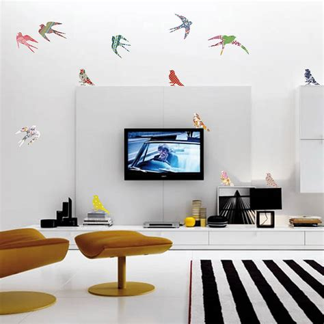 vinyl wall decals vintage bird vinyl wall stickers by oakdene designs