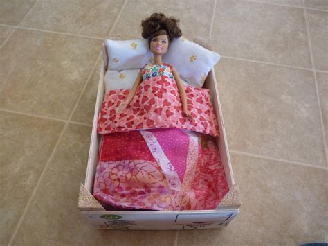 how to make a barbie bed a homemade barbie bed life sew beautiful