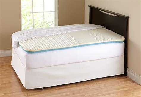 lumbar supporting mattress pad sharper image