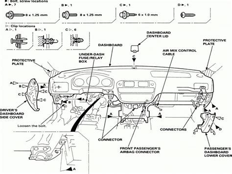 97 honda accord fuse box diagram 1994 honda accord